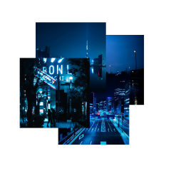 blue darkblue aesthetic darkblueaesthetic city freetoedit