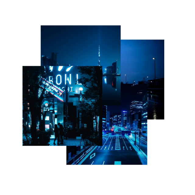 #blue #darkblue #aesthetic #darkblueaesthetic #city