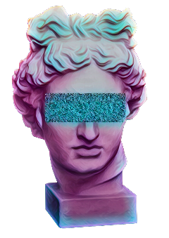 greece pastel statue head tumblr freetoedit