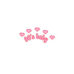 90s 90saesthetic 90sbaby heartcrown pink freetoedit