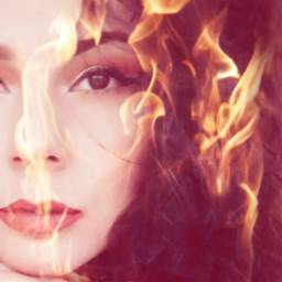 fire hot faceart fuego mexican
