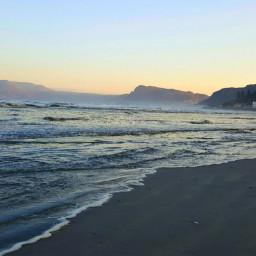 sunset ocean newyear 2020 nature