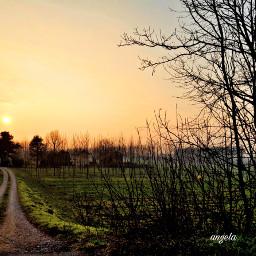 freetoedit countryside path sunset myphoto