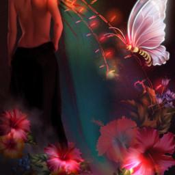 freetoedit fantasy fantasyart fantasygirl fantasyworld srcfestivelights