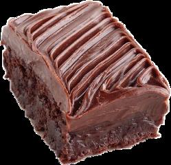 chocolate brownie frosting cake food freetoedit