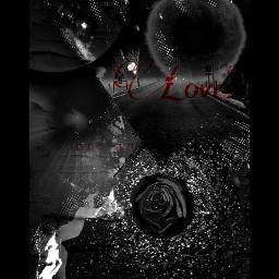 art mystyle blackandwhite rose abstract freetoedit