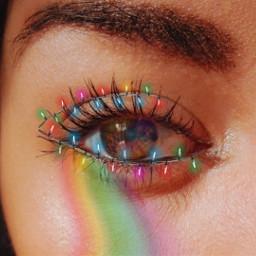 christmas navidad arcoiris rainbow lightschristmas freetoedit srcfestivelights festivelights