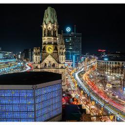 berlin nightphotography citylights cityscape nightshot freetoedit