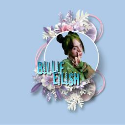 freetoedit billieeilish flowers