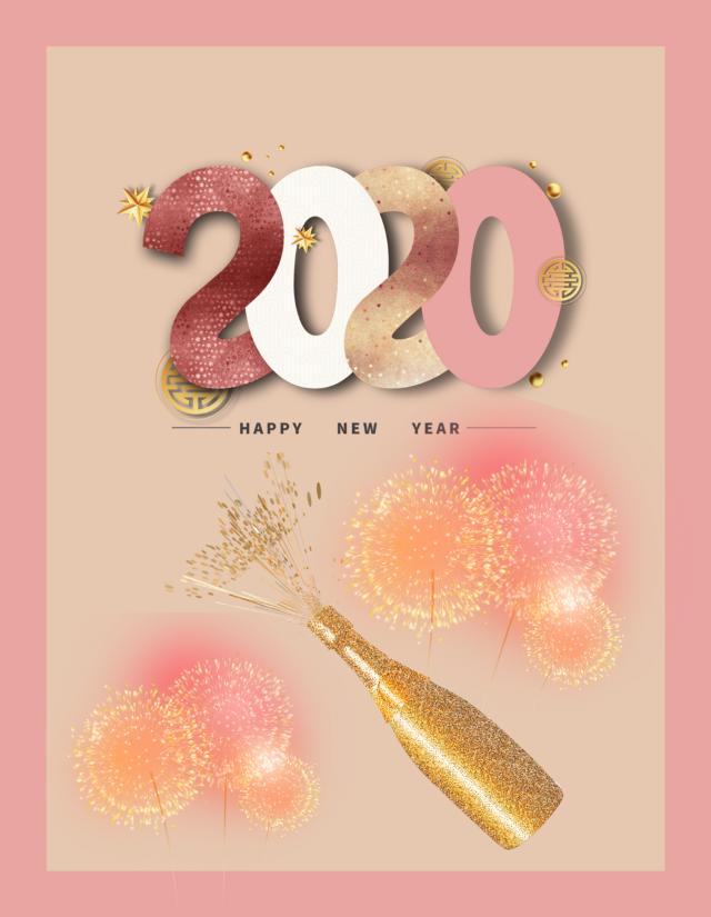 #freetoedit Wishing everyone a wonderful new year!  #background #newyear #happynewyear #newyear2020 #celebration #fireworks #champagne