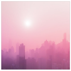 city town pink sky rose freetoedit