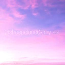 freetoedit pink sky sis sisters