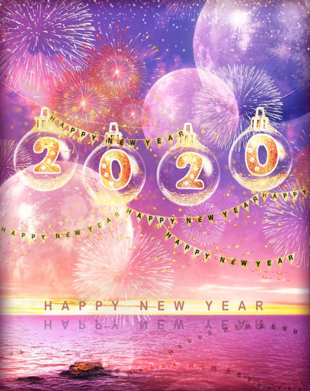 🌟Happy new year💕 #freetoedit #happynewyear #happynewyear2020 #2020