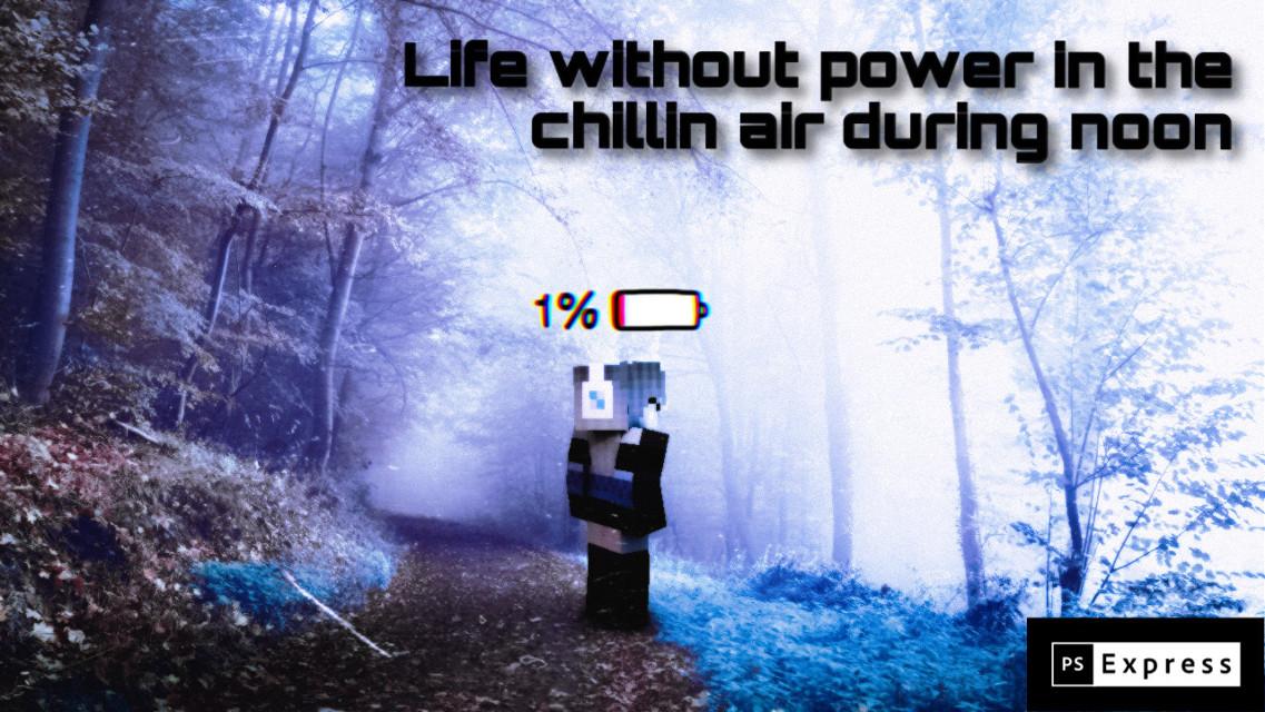 #hackergirl #robotgirl #woods #air #adobephotoshop #1%battery #freetoedit