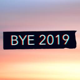 interesting 2019 goodbye 2020 newyear freetoedit