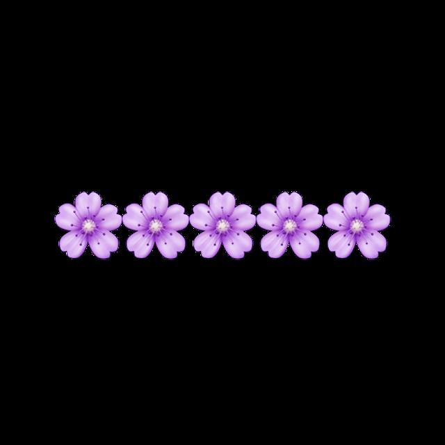 #flower #emoji #purple #purpleaesthetic #freetoedit