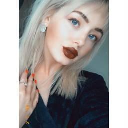 lipstick blueeyes rednails diamonds freetoedit