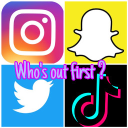 tiktok insta twitter snapchat freetoedit