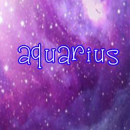 freetoedit zodiacseries aquarius