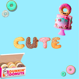 freetoedit donuts🍩 cske sweets text