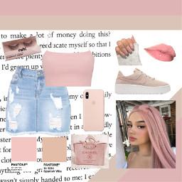 freetoedit cute pink beige pantone