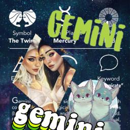 freetoedit gemini geminitwins zodiac zodiacsign
