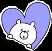 Heart #heart #bear #purple #purpleaesthetic #freetoedit