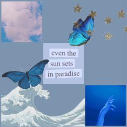 blueaesthetic lightblue vintage aesthetic ocean ccblueaesthetic freetoedit