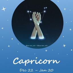 capricorn zodiac stars freetoedit eczodiac