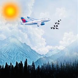 background airplane aeroplane airplanemode skysick