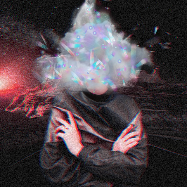 Head in the clouds #freetoedit #surreal #psychedelic #goodvibes #cloud #clouds #trippy #myedit