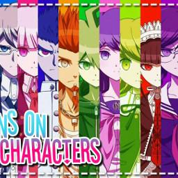 freetoedit danganronpa danganronpatriggerhappyhavoc drthh characters