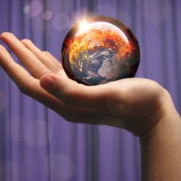 freetoedit world glassball hand glares