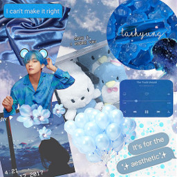 freetoedit aesthetic bts taehyung cute ccblueaesthetic blueaesthetic
