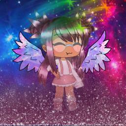 freetoedit gachalife gachalifeedit girl stars