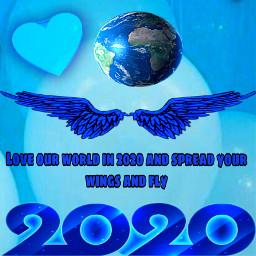freetoedit blue loveyourworld (null)
