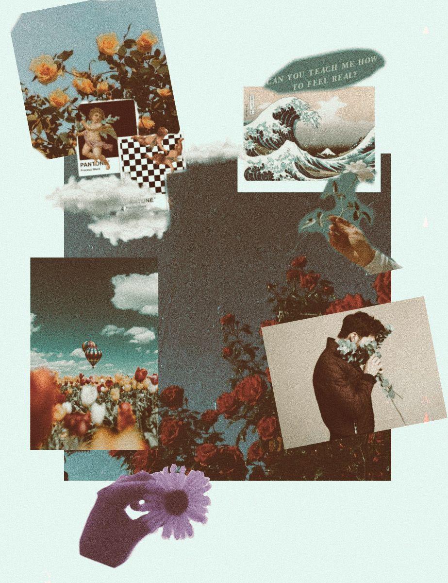#aesthetic #tumblr #moodboard  • • • • • • • • ⚡️🌿🌙🌻💫🌎✨ #freetoedit