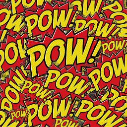 freetoedit pow background red yellow