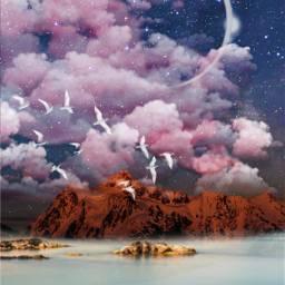 freetoedit remixit background sky