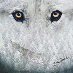 freetoedit remix wolf whitewolf forest