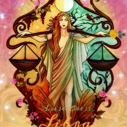 freetoedit libra eczodiac zodiac fantasy