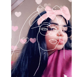selfie lipstick messyhairdontcare freetoedit