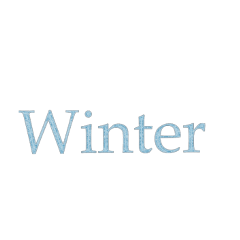 winter snow aesthetic blue word freetoedit