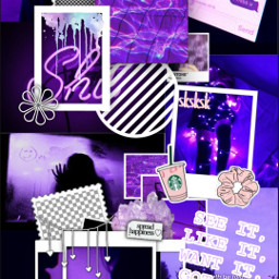 freetoedit purple aesthetic background 7rings