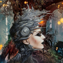 freetoedit ircelegantsilhouette elegantsilhouette fantasy forestfic