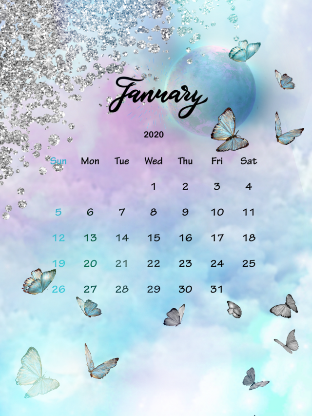 #freetoedit #january #galaxy #moon #butterfly