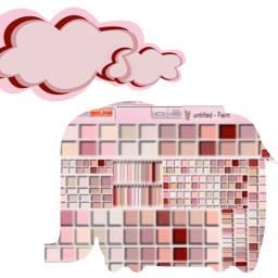freetoedit elephant pink srcrememberingpaint rememberingpaint