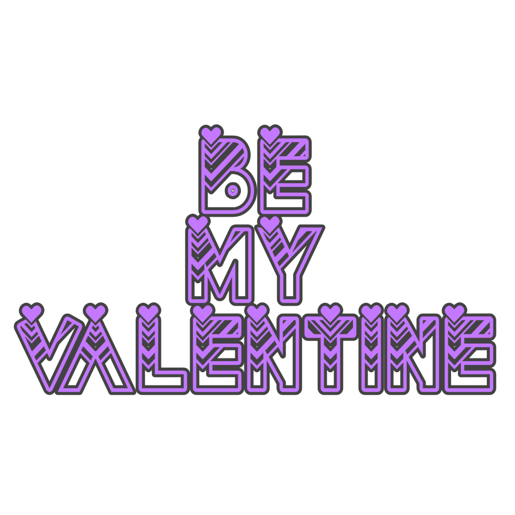 #hearts #valentinesday #love #wordart