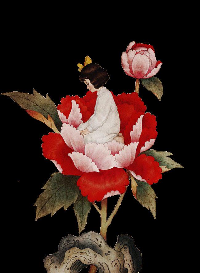 #vintage #vintageillustration #rose #fairy #freetoedit