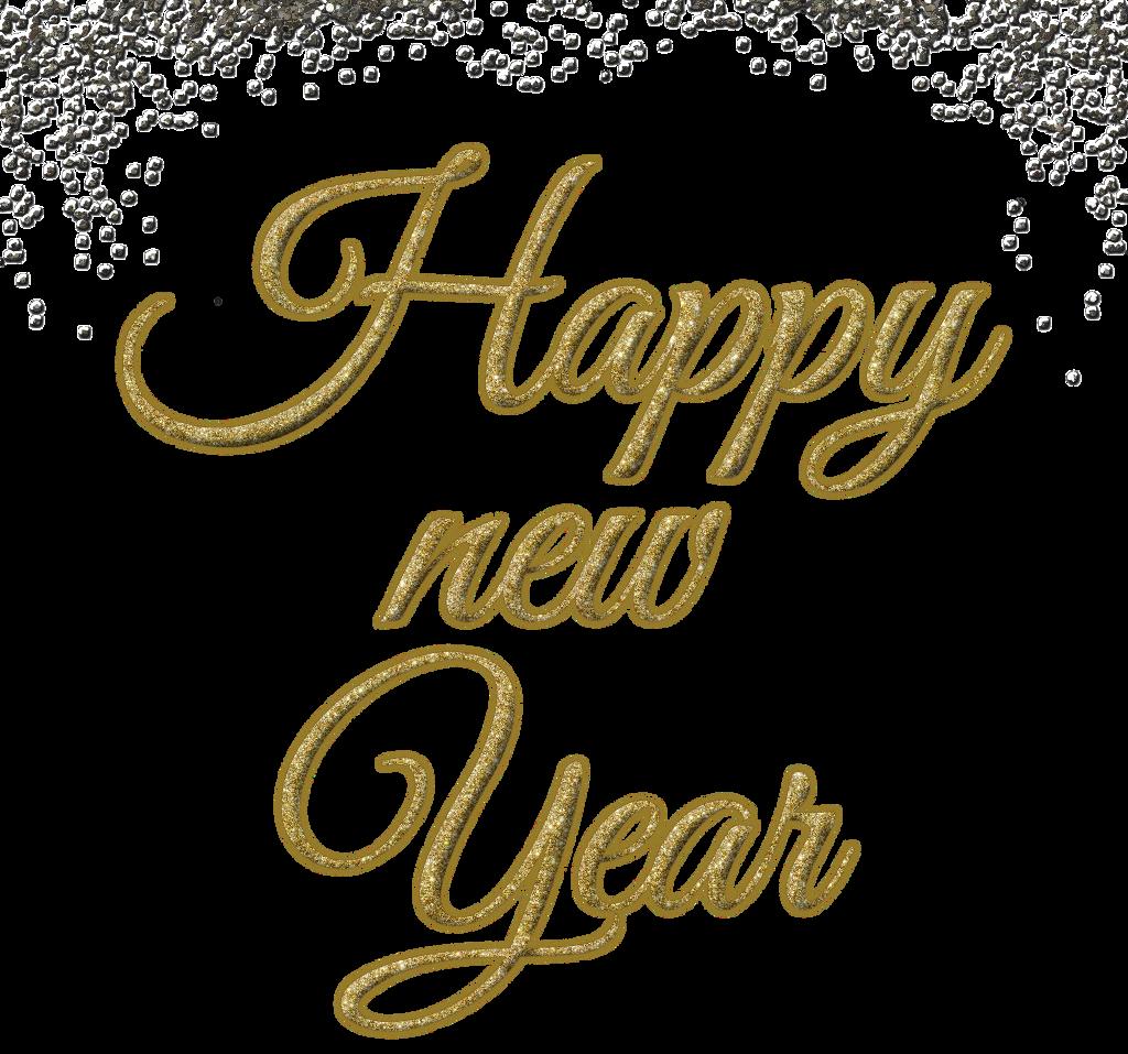 #newyear #happynewyear #overlay #celebrate #glitter #goldglitter #blackglitter #words #freetoedit #remixit #freetoedit
